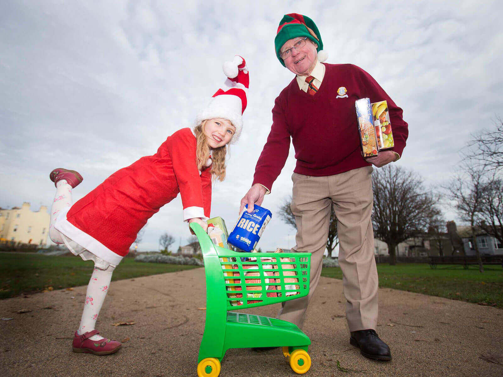 lions clubs christmas food appeal